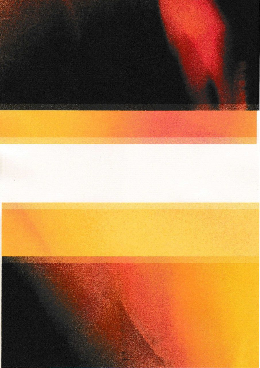 Sun rise, Sun set Inkjet Print onto paper, 21 x 29.7cm