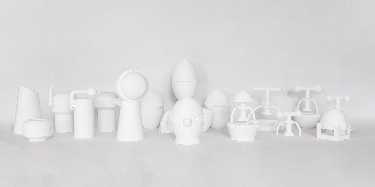 3D printed models of the Hemi Collection.